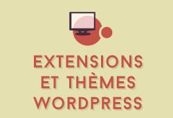 Développement, ajout d'extensions et personnalisation de thèmes Wordpress