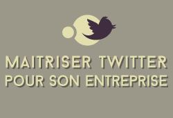 Maîtriser Twitter pour son entreprise