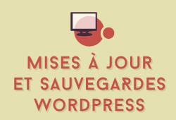 Maintenance : mises à jour et sauvegardes de sites Wordpress