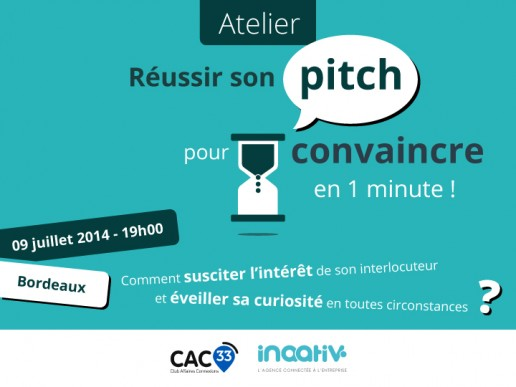 Atelier réussir son pitch