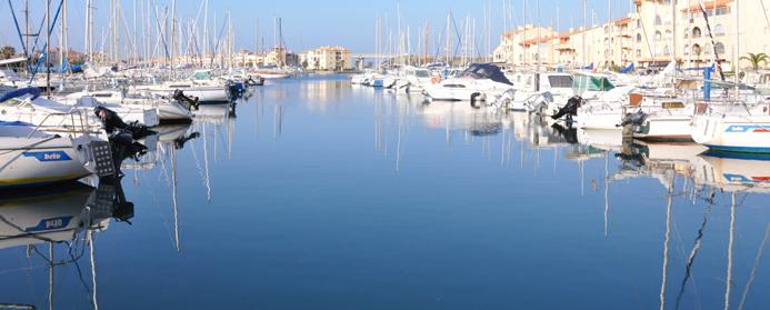 Cr ation du site internet de la papillote apprtement de vacances louer port leucate inaativ - Agence du port port leucate ...